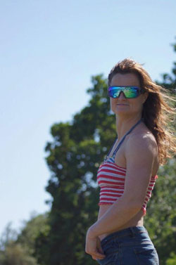 Spy Optics Sarah Kingdom wakeboarder